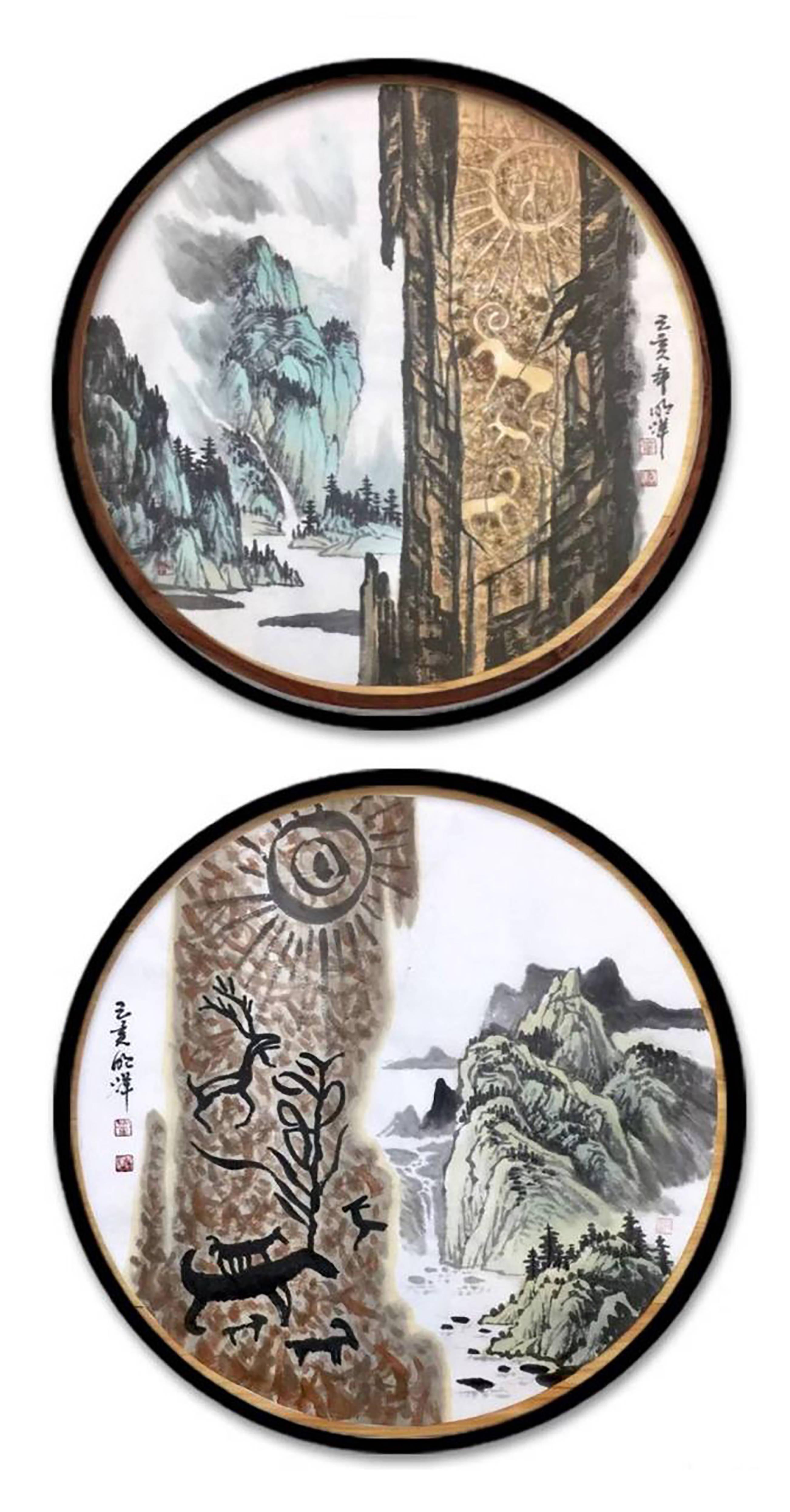 [画家朗格]2020年董明洋作品拍卖及画廊价格