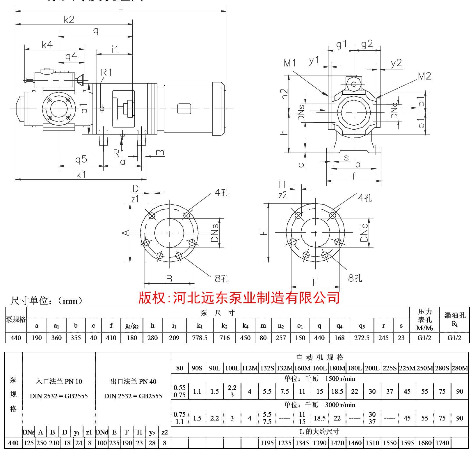 <b>11kW重油雾化泵SNF440R46U12.1W21三螺杆泵 重油雾化温</b>
