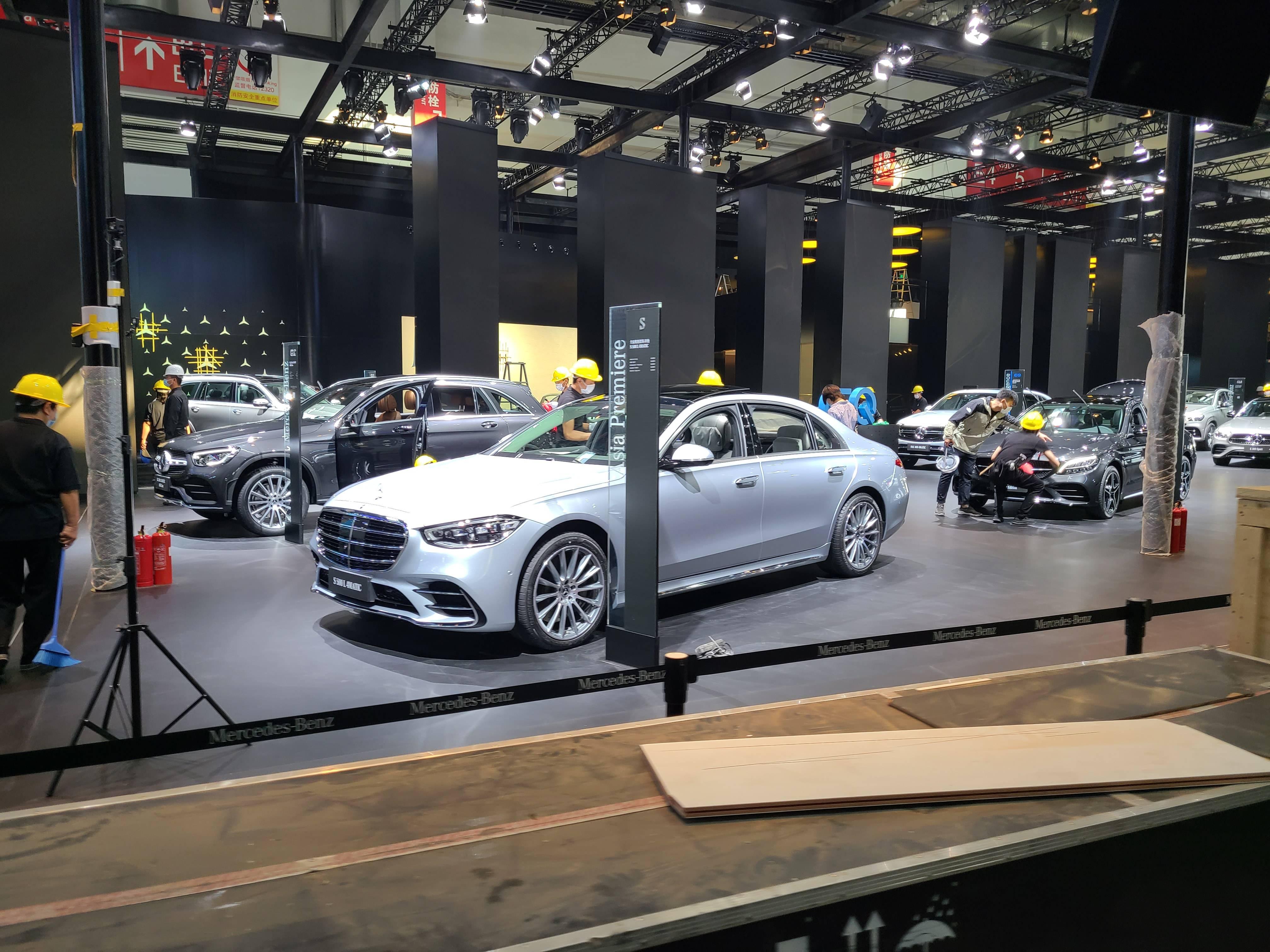 2020北京车展探馆:全新奔驰S级