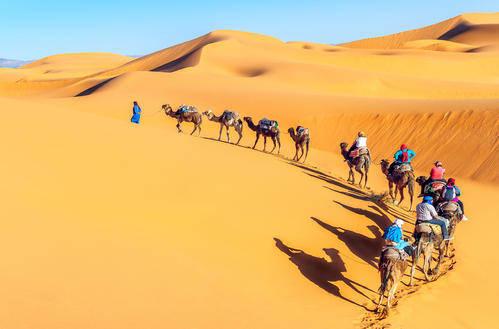 景致记载:云游撒哈拉沙漠——前世回忆
