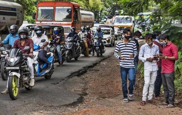 印度染疫总数突破600万 料10月初成全球最多