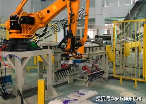 码垛机器人在实际生产中的应用详解