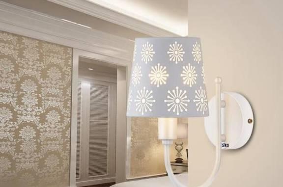 卧室壁灯一般安装多高?如何安装卧室壁