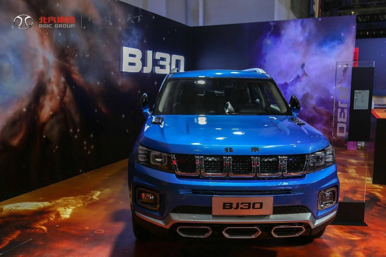北京越野BJ30在北京车展亮相,舒适度得到提升。气田没有失去大切诺基