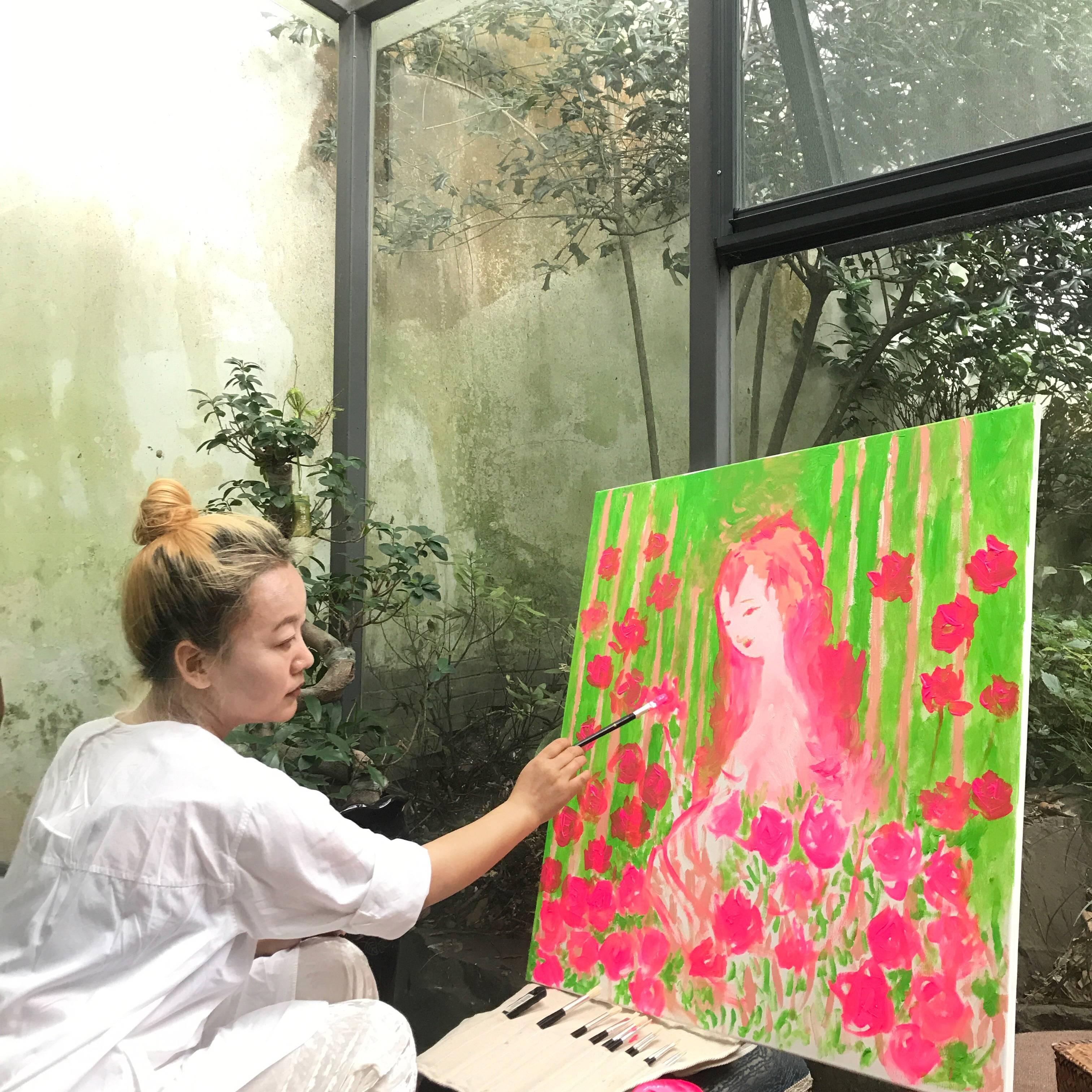 姜靖的粉红女郎作品集