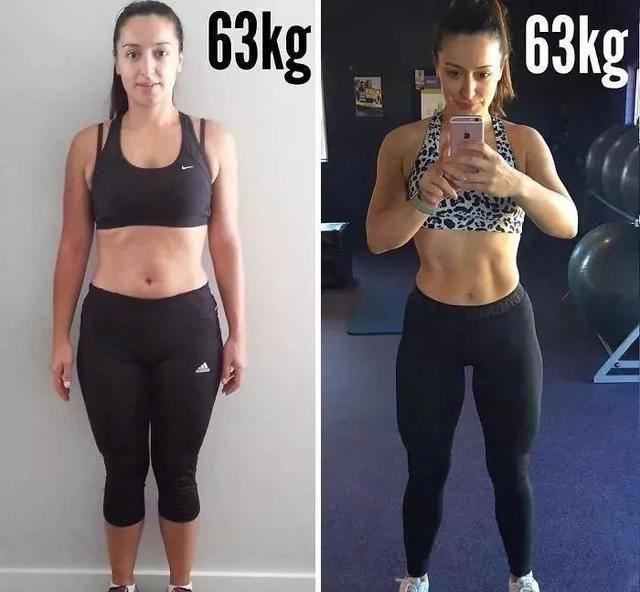 女孩体重过百就是胖吗?真正的健身女孩,体重大都超110斤!