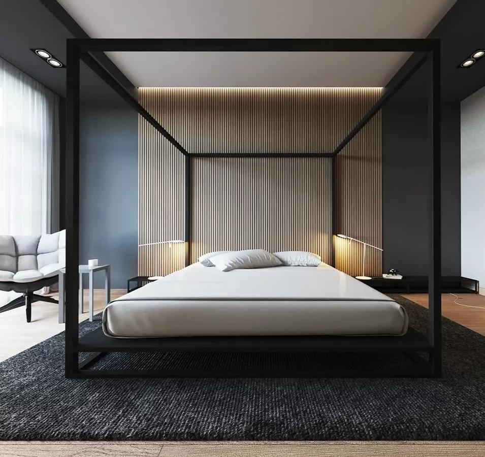 济南奇葩彩色冰晶画:卧室墙面设计 让卧