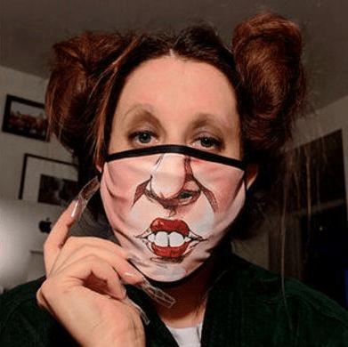 卸妆就能过万圣节?16款搞鬼搞怪口罩,素颜也成万众焦点