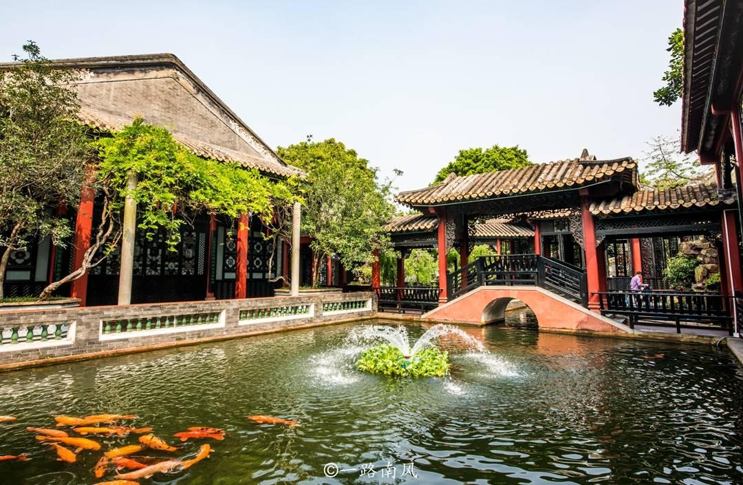 广东第一园林,不在省会广州,而是位于佛山顺德区的清晖园