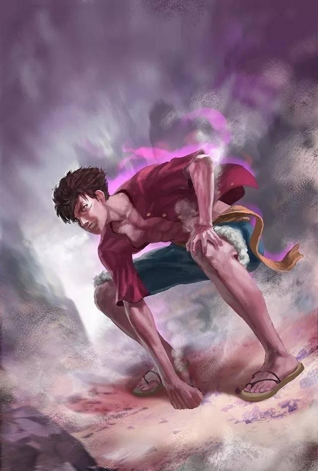 海贼王写实壁纸分享,娜美乘风破浪,路飞为守护伙伴变得强大_罗宾