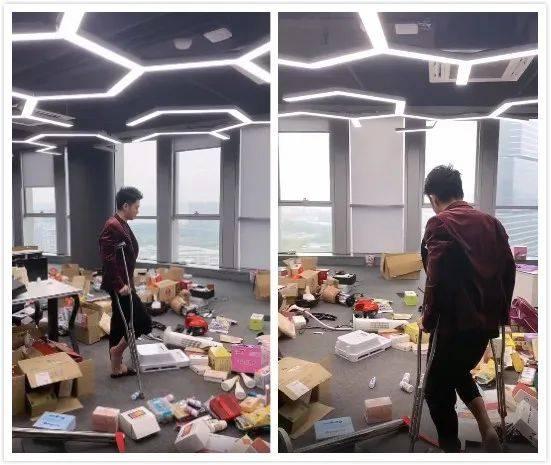 浩南活动被社会人士砸,东方阿宝直播警告刘二