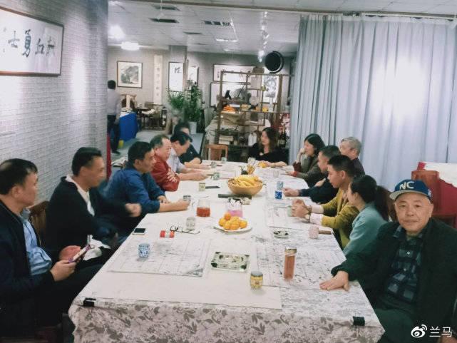 """""""乙太墨痕书画家雅集""""成功举办,线上直播,让全民爱上中国书画"""