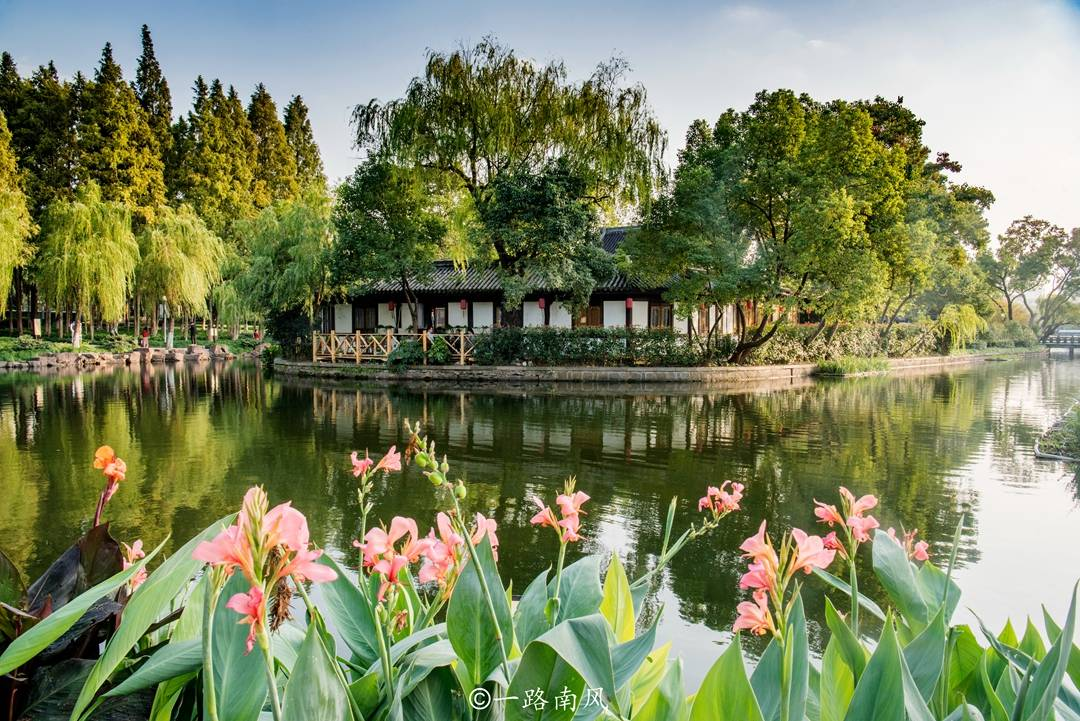 """浙江""""最冷门""""园林,位于免费的宁波月湖公园内,美得像瀛洲仙境"""