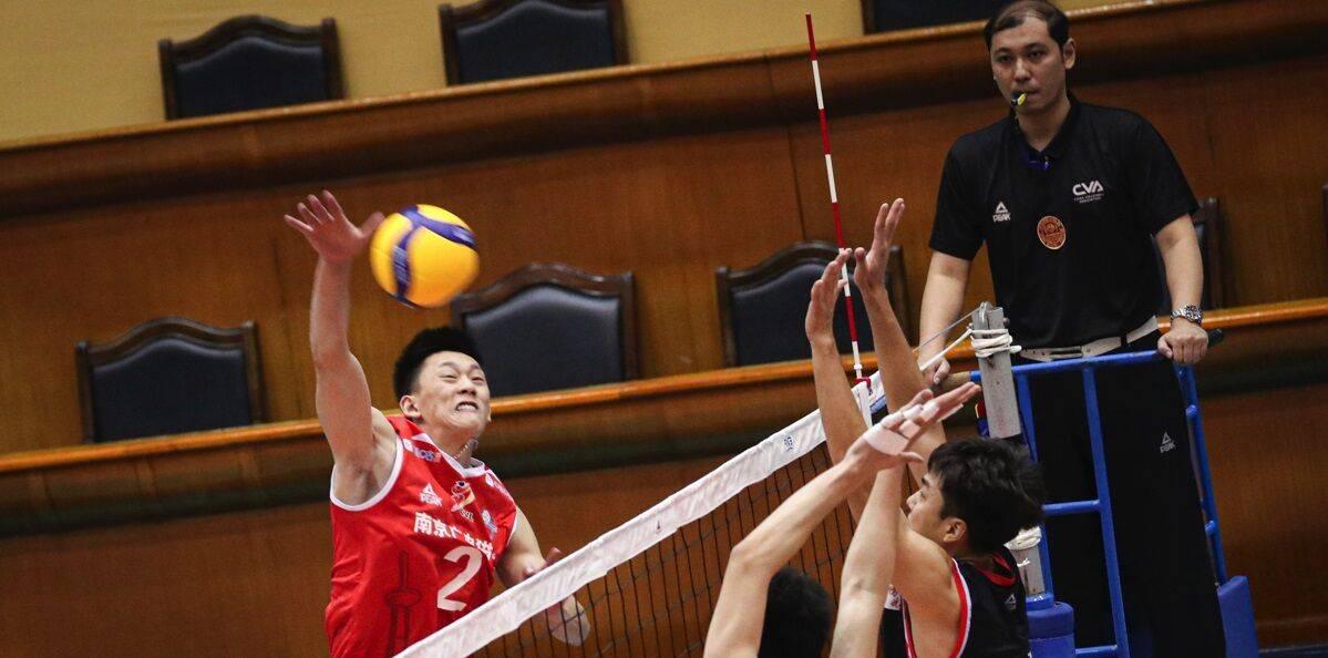 男排全锦赛江苏提前进八强 上海陷混战面临四选三形势
