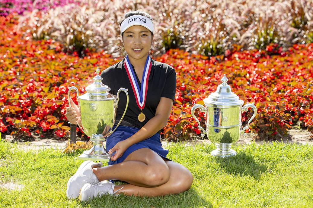 第75届美国女子公开赛 业余小将叶雷积极训练 挑战年度最后一场大满贯