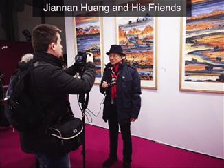 黄建南专题创美国艺术视频新高 一周内逾百万人次关注