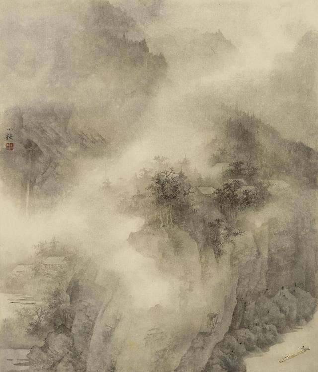 """""""绘素澡心·天一阁——王小椿中国画作品展""""在天一阁云在楼开幕"""