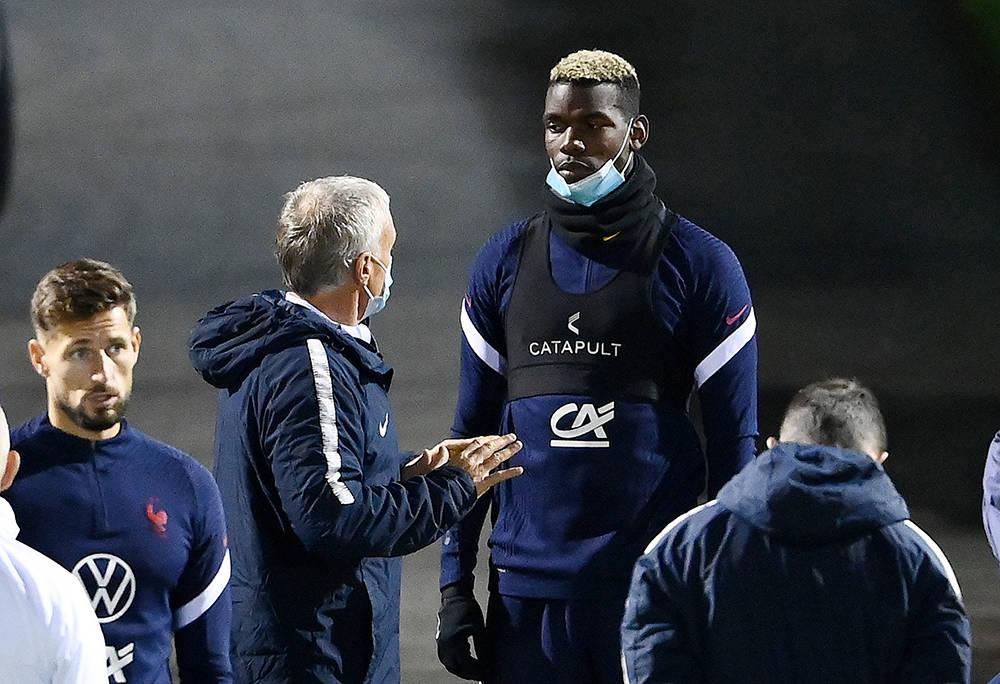 原创             德尚曝博格巴在曼联打替补不高兴:出场时间和位置安排,都不满意