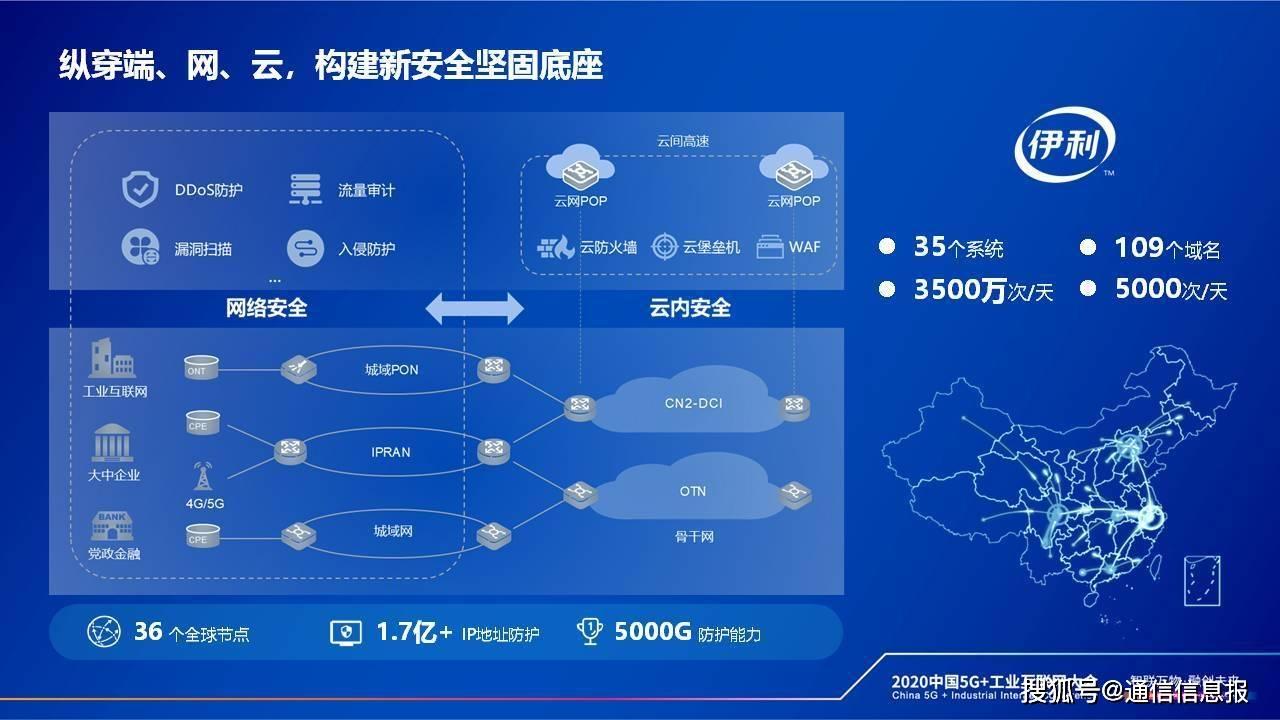 中国电信总经理李正茂: 云网融合赋能工业企业数字化转型