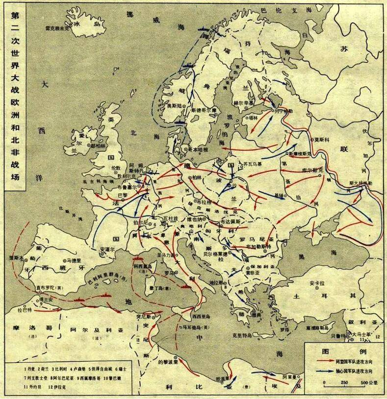 原创   同盟国两大军事强国苏联和美国,谁对二战的贡献更大    第10张