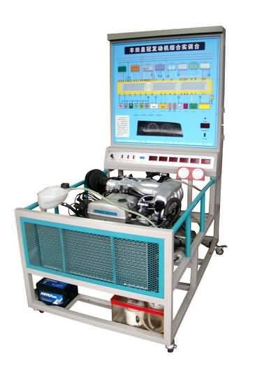 丰田卡罗拉电控发动机培训平台,汽车发动机培训设备
