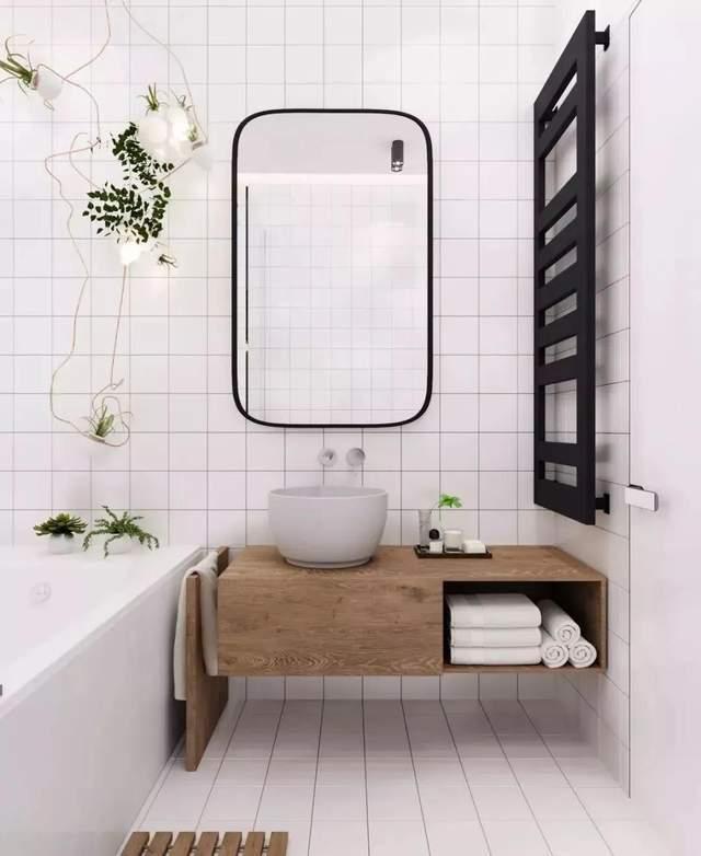 浴室的终极收纳方式 比买10m ^ 2更值得