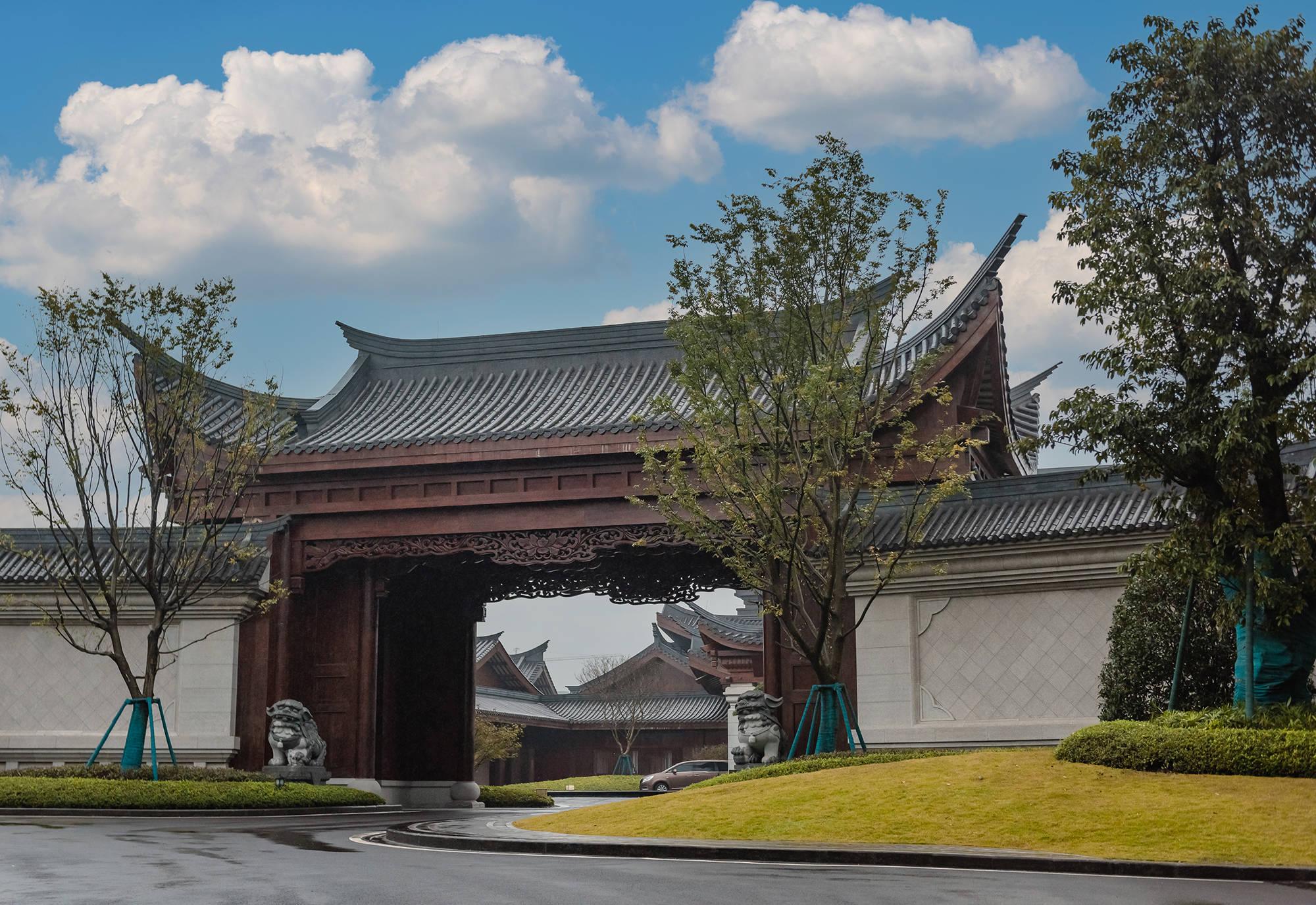 """原创             距成都半小时车程:有座隐匿的古典庭院,私汤环境像极了""""京都"""""""