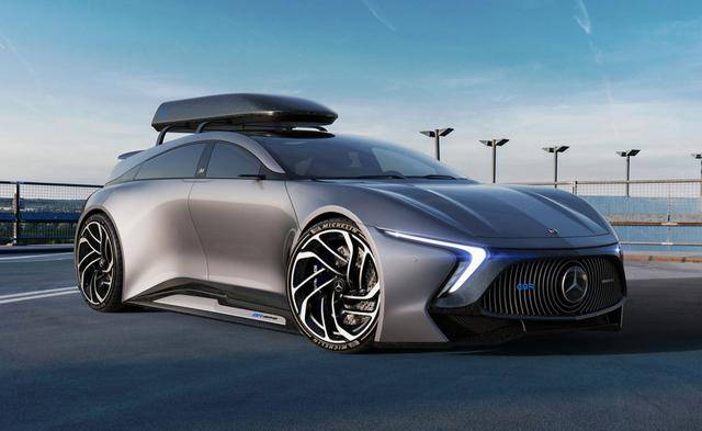 原版继承了奔驰r级和AMG的灵魂,最激进的旅行车来了,几乎在地上飞