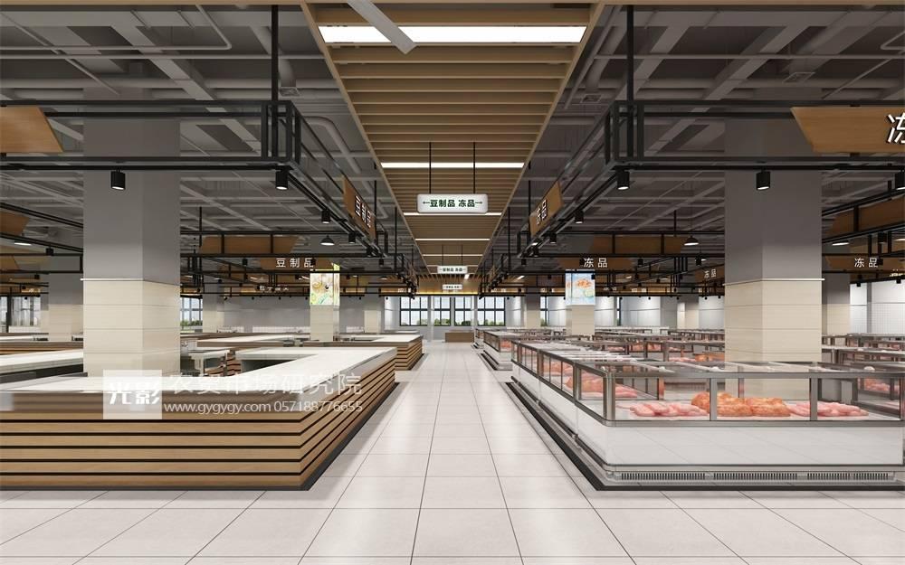千亿体育登录: 晋城菜市场设计—晋城菜市场装修设计—晋城菜市场设计图(图1)