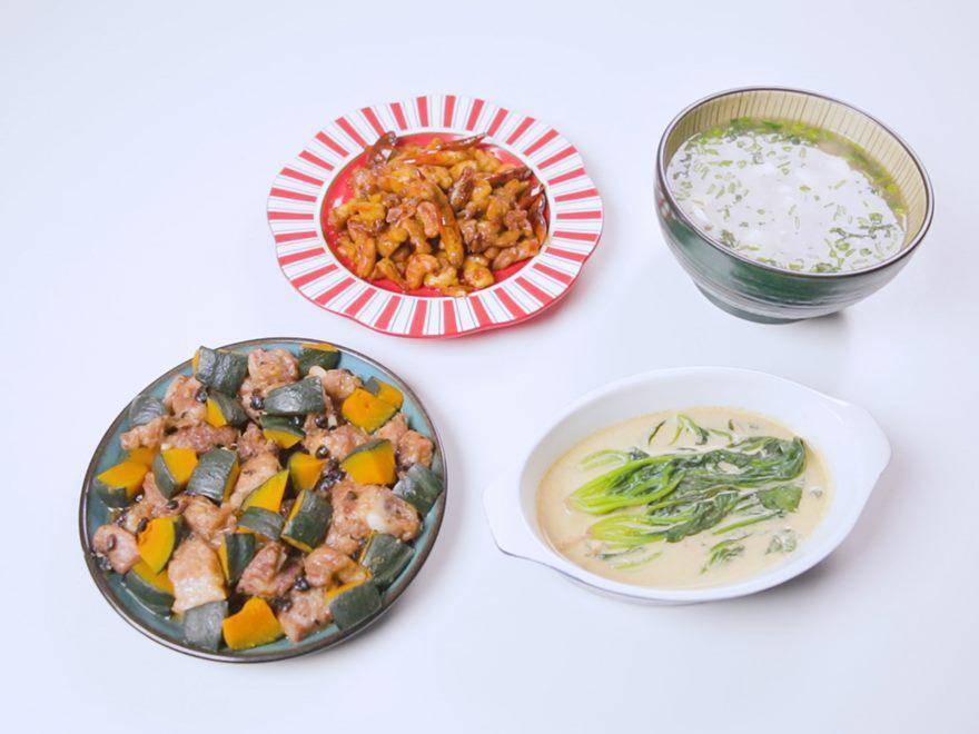 上海一家三口的晚餐,在朋友圈火了,网友:给我看饿了,求蹭饭
