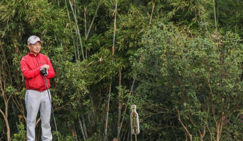 2020中国业余高球冠军赛 总裁球员叶德林亲自参与首轮