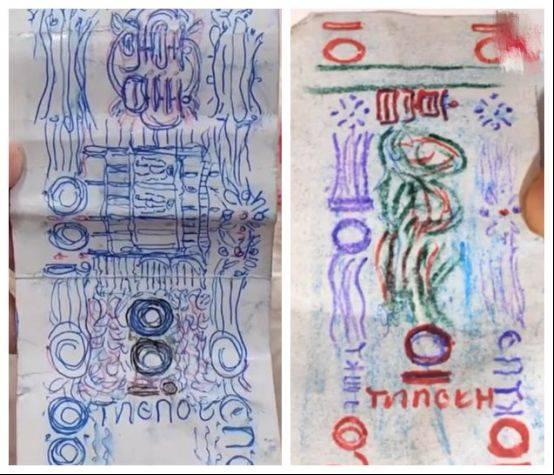 浙江一位大爷连续7年用手绘纸币买面条,老板连卖7年后一番话太暖了。