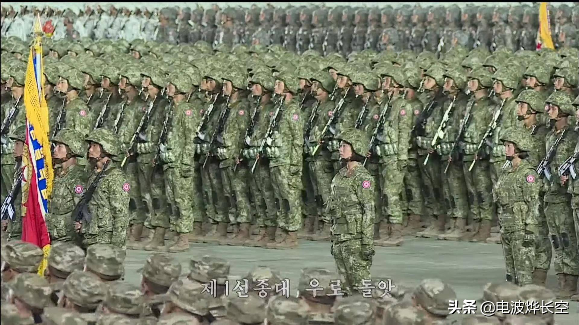 不再土气!朝鲜人民军五款新数码迷彩亮相,时尚价值不失星空迷彩
