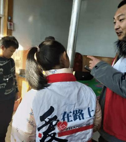 张北县爱心在路上助残协会一直走在助学路上
