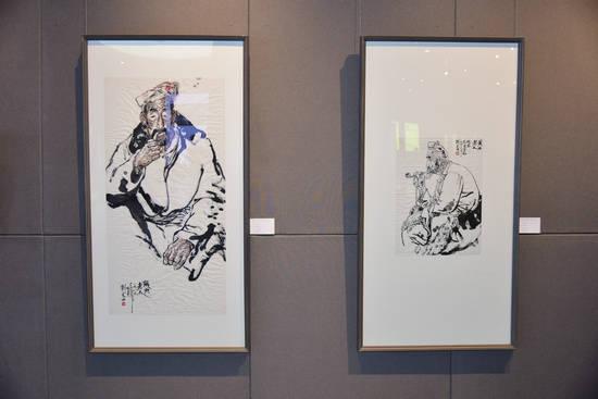 """""""唐诗之路——恒大 · 当代中国画名家邀请展""""在嵊州文创主题馆举办"""