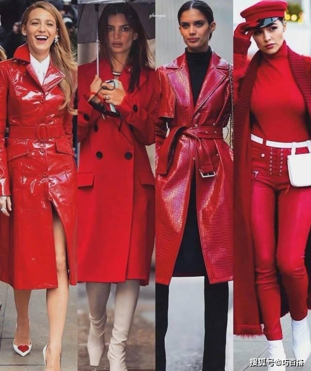 原创             传承文化经典,中国红色成为潮流,时尚达人都在穿