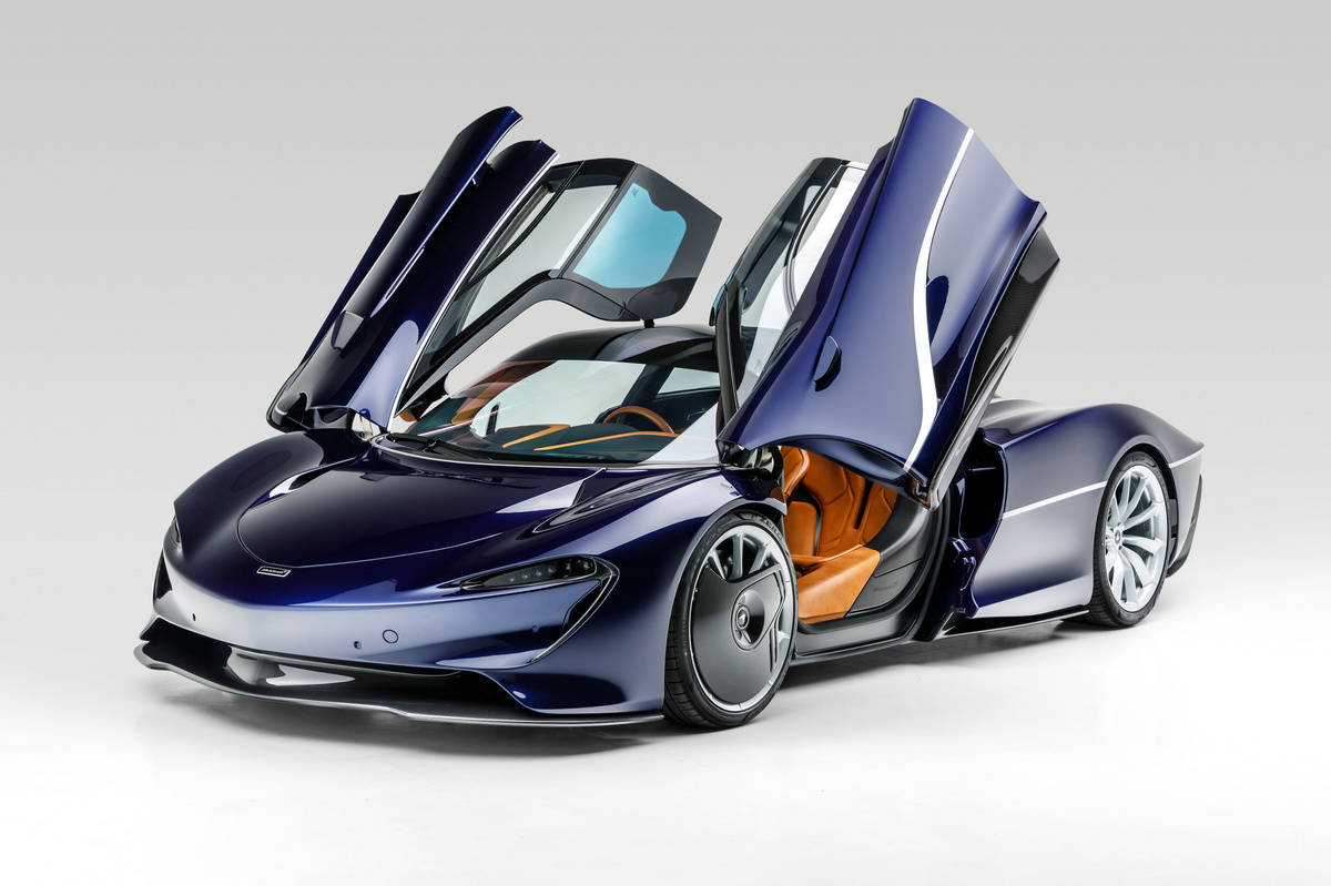 创意吸引百万富翁,仅行驶30英里的迈凯轮Speedtail即将被拍卖