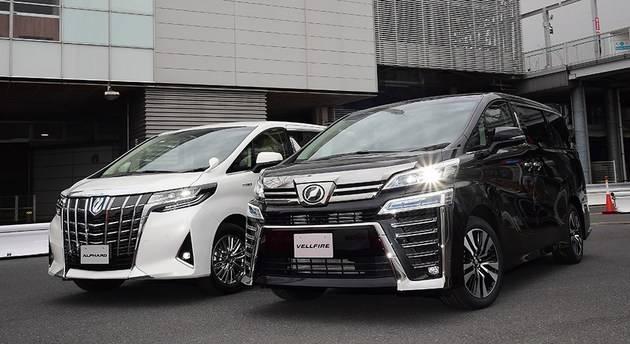 丰田威尔法将被整合到阿尔法汽车系统中