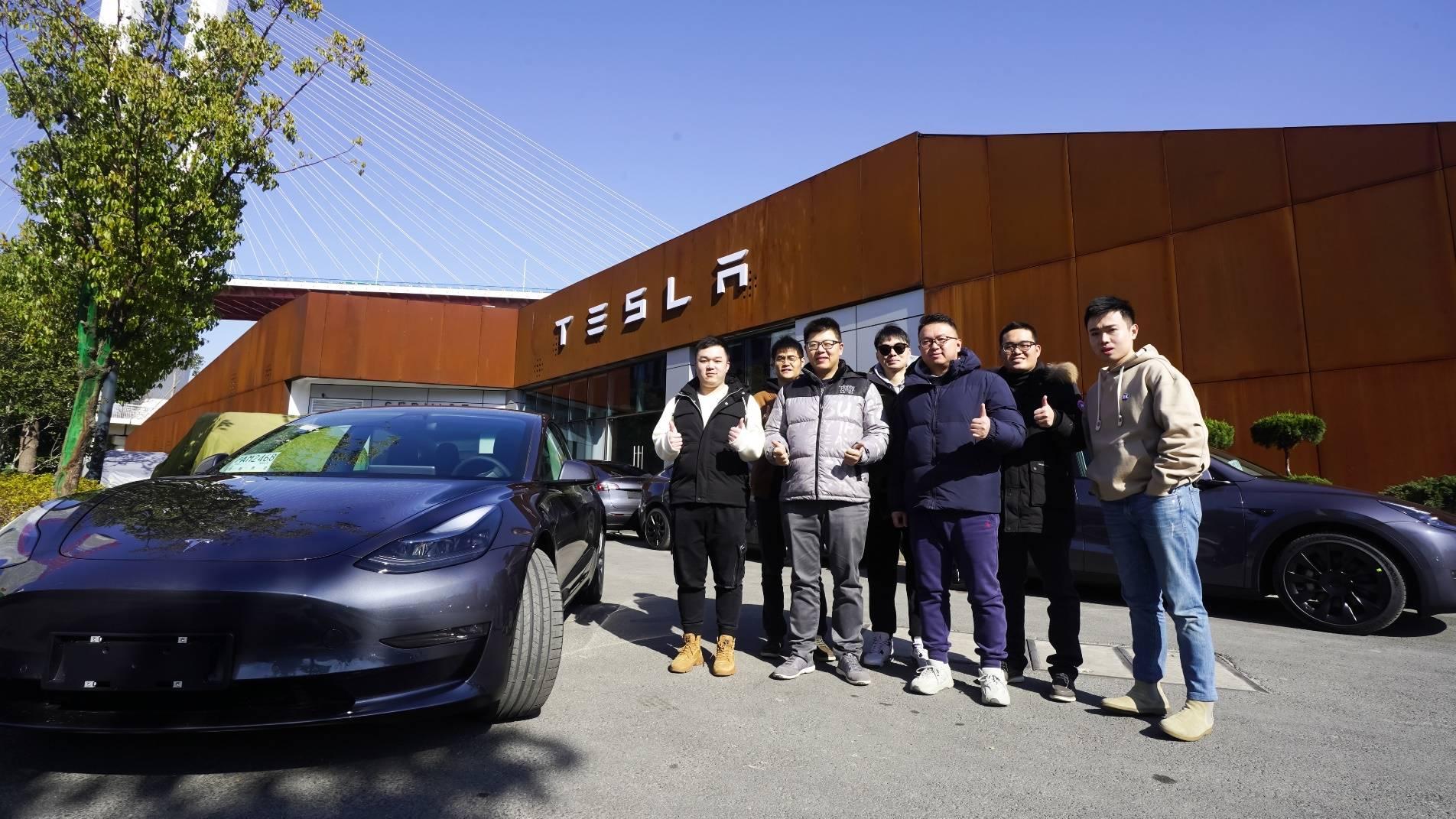 特斯拉在上海舉行國產Model Y、Model 3首發試駕會