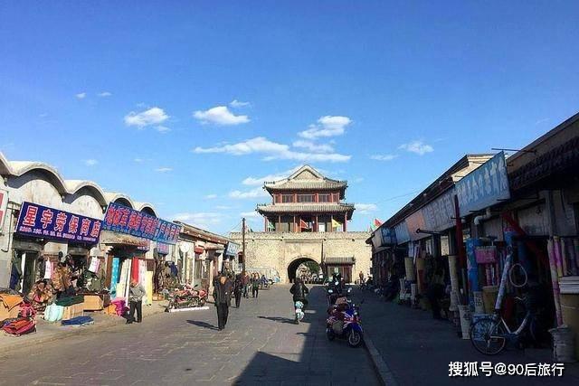 辽宁又一古城走红,建于明宣德三年,还是一座方形卫城,通票100