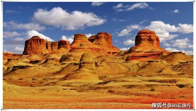 新疆新晋5A景区,名魔鬼城,又称乌尔禾风城,但一亿年前曾是湖泊