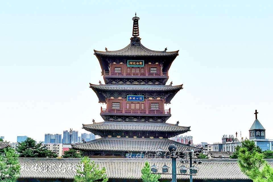 山西这座寺庙 有国内最大纯铜地宫 罕见露齿观音被誉为东方维纳斯  第7张
