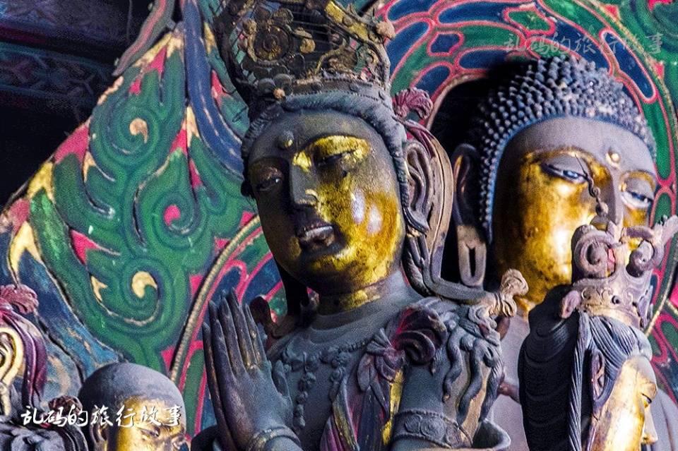 山西这座寺庙 有国内最大纯铜地宫 罕见露齿观音被誉为东方维纳斯  第6张