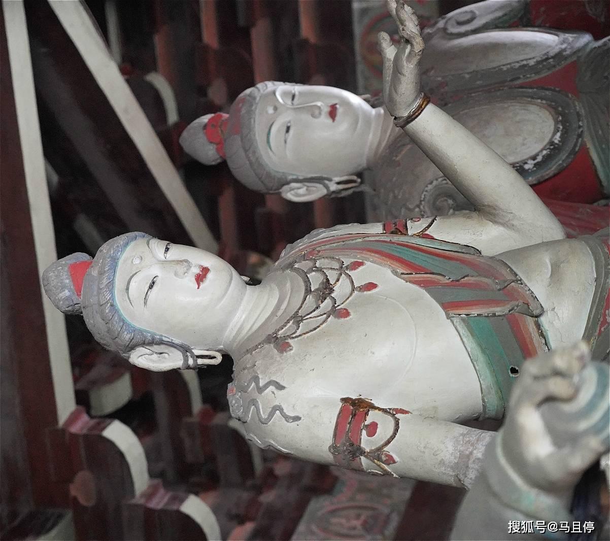 山西平遥有个冷门寺庙,比灵隐寺小众太多,还可看到1000多年的建筑  第7张