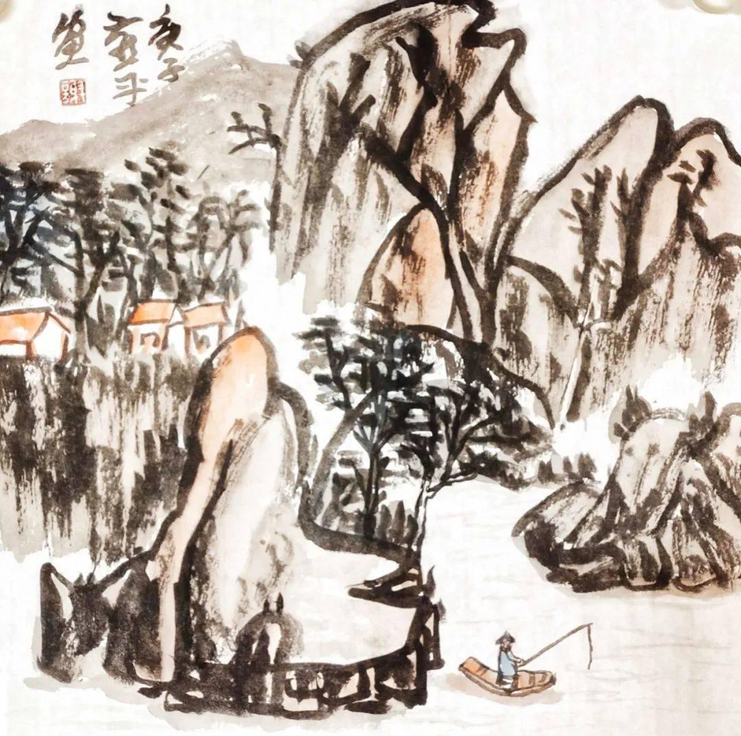 金牛贺岁•翰墨迎春 | 谢燕平——当代优秀书画名家作品展_中国