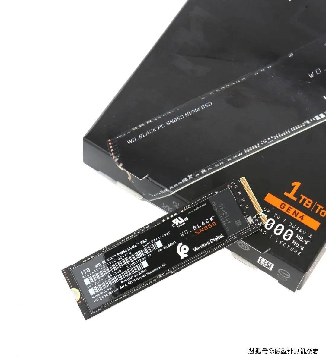 原始速度超过7000MB/s!WD_BLACK首次PCIe 4.0 SSD SN850深度测试