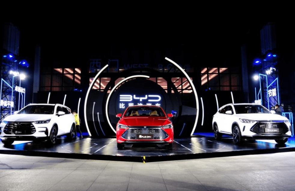 比亚迪全球首款DM-i超级混合动力,三款新车令人印象深刻