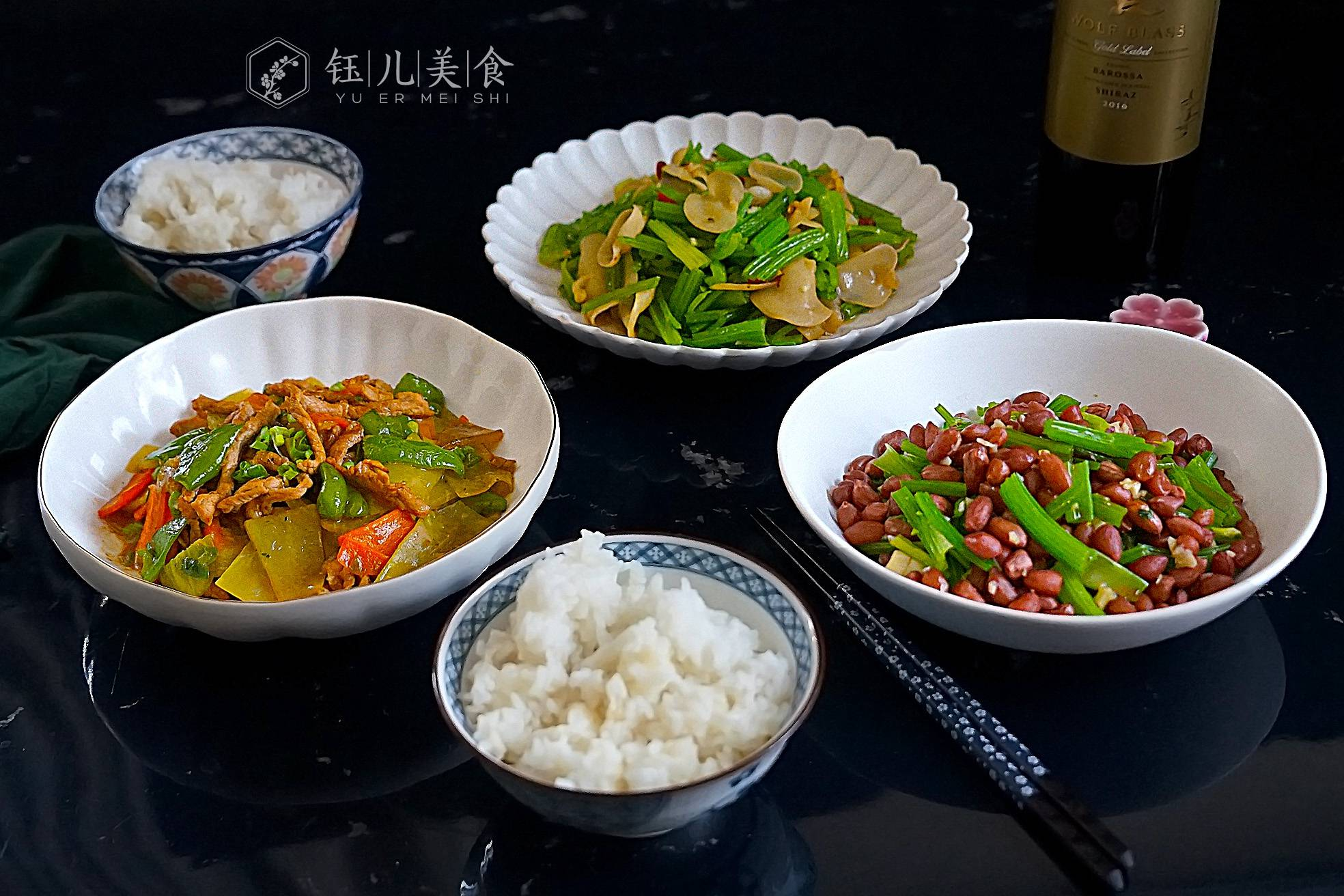 晒晒一家三口的冬日午餐,简单三道菜好吃又快手,更有家的味道