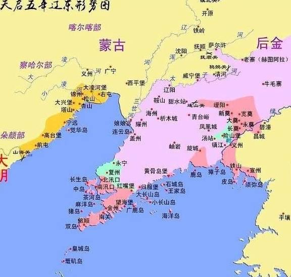 南有明朝,西有蒙古,为什么女真会崛起?  第4张