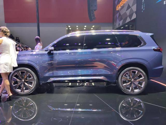 奇瑞即将上市新车,外观霸气,如果命名瑞虎9,或许就会大卖